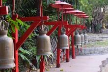 Cloches Temple Thailande