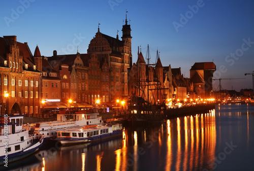 Fototapety, obrazy: Dluga embankment in Gdansk. Poland