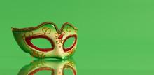 Festive, Colorful Masks Of Mar...
