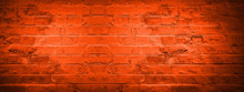 Fire Red Damaged Rustic Brick ...