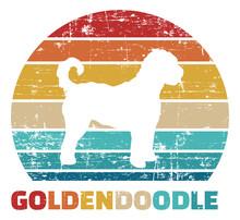 Goldendoodle Vintage Color