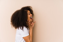 Young African American Woman S...