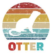 Otter Vintage Retro