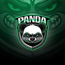 Panda Esport Mascot Logo Design