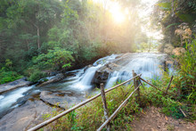 Waterfalls At Doi Inthanon Nat...