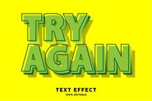 Green Pop Art Text Effect, Editable Text