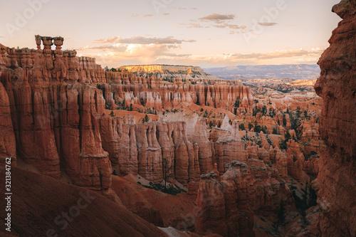 Fotografia bryce canyon at sunset