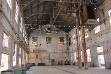 Interior Of An Old Building