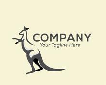 Fighting Kangaroo Pouch Logo D...