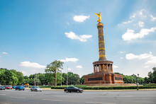 Berlin Victory Column In Berli...