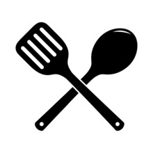 Skimmer For Cooking Icon. Kitc...