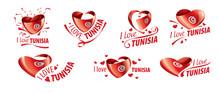 National Flag Of The Tunisia I...