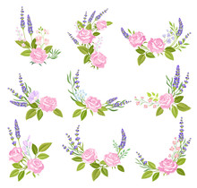 Floral Arrangements Of Roses A...