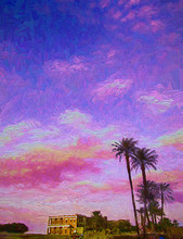 Picture Of Colorful Evening Su...