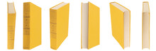 Yellow Book With Cloth Cover O...