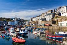 Mevagissey Harbour Cornwall En...