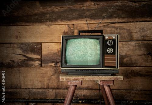 Photo Vintage 70s Televison
