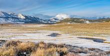Winter Landscape In The Eastern Sierra