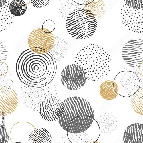 recznie-rysowane-doodle-kola-wzor