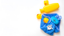 Baby Bathing Accessories On A ...