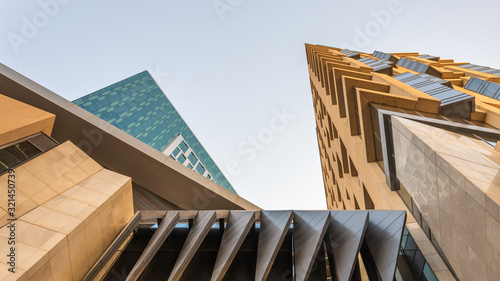 Photo Large buildings equipped with the latest technology, King Abdullah Financial Dis