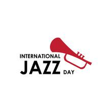 International Jazz Day Celebration Vector Template Design Illustration