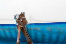 Image Featuring A Rusty Boat S...