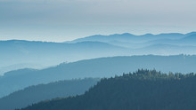 View From The Feldberg Over Ha...
