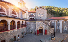 Courtyard Of Famous Orthodox K...