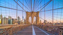 Brooklyn Bridge In New York Ci...