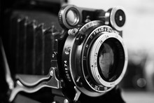 Lens Of An Old Film Camera