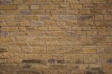 Yellow Brick Wall Texture Back...