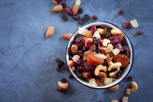 Healthy Snack: Mixed Nuts And ...