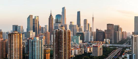 Guangzhou city skyline