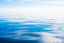 Sea Water Texture. Clear Blue ...
