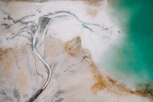 Aerial Image Of A Cement Basin...