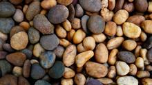 Colorful Pebble Beach Stone Ba...