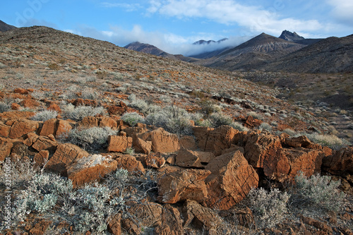 Landscape of the Amargosa Mountains, Death Valley National Park, California, USA