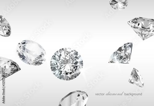 Fototapeta Diament  luxury-background-with-diamonds-for-modern-design