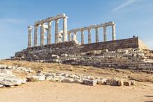 Ancient Ruin Of Poseidon Templ...