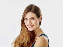 Portrait Of Smiling Woman With...