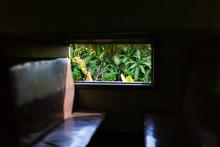 Interior Of A Passenger Train ...