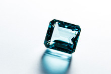 Close Macro On Faceted Gem Of ...