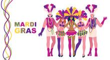 Dancers - Men And Girls In Bri...