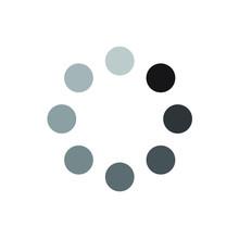 Dot Buffering / Loading Icon F...