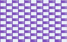 Purple Weave Pattern Small
