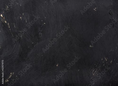 Photo Textura de madeira compensada pintada de preto.
