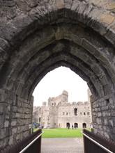 Caernarfon Castle Balcony