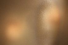 Brown Foil Glitter Metal Wall ...
