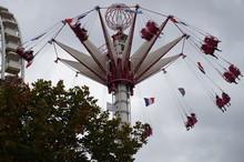 Carousel In Park